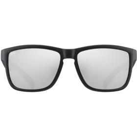 UVEX LGL 39 Glasses black matt/mirror silver